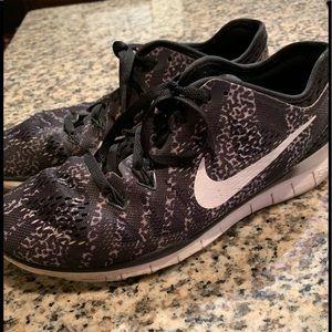 Nike cheetah print shoes!